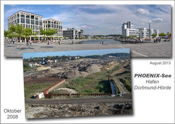 Phoenix - See - Hafen, Dortmund - Okt 2008/Aug 2013