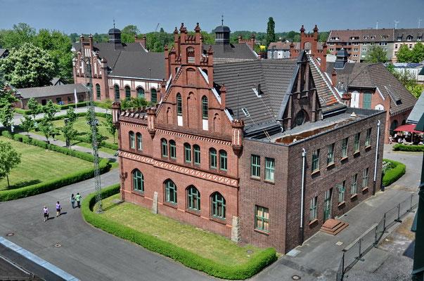 Zeche Zollern II/IV, Dortmund-Bövinghausen - Verwaltungsgebäude