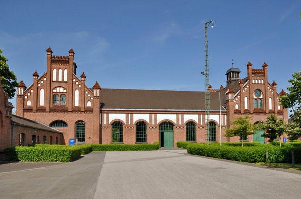 Zeche Zollern II/IV, Dortmund-Bövinghausen - Werkstättengebäude