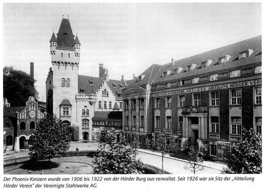 Hörder Burg, Dortmund - 1920-er Jahre Quelle: Denkmalbehörde