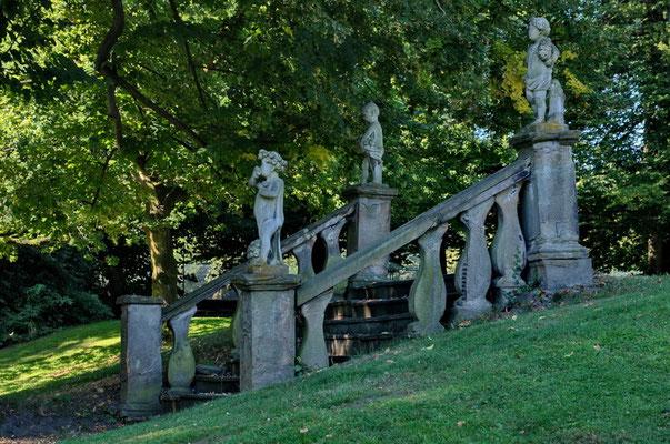 Schlossgarten, Wasserschloss Bodelschwingh