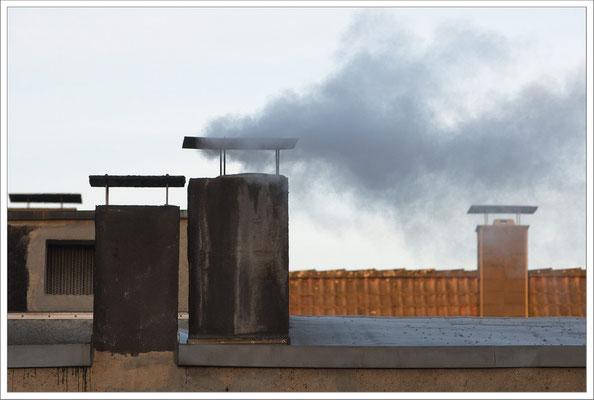 Rauchzeichen über Dortmund. Ein untrügliches Signal bei uns dafür, dass der öffentliche Nahverkehr wieder in Fahrt gekommen ist, spätestens bis zu den nächsten Tarifverhandlungen