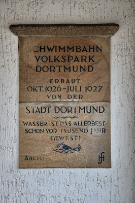 Freibad Volkspark, Dortmund (denkmalgeschützt)