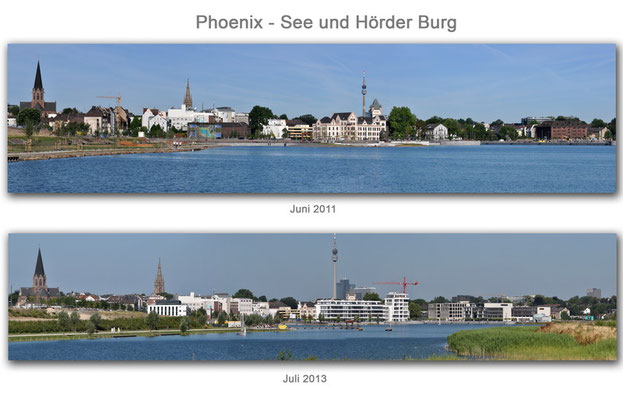 Hörder Burg/Phoenix - See, Dortmund Juni 2011/Juli 2013