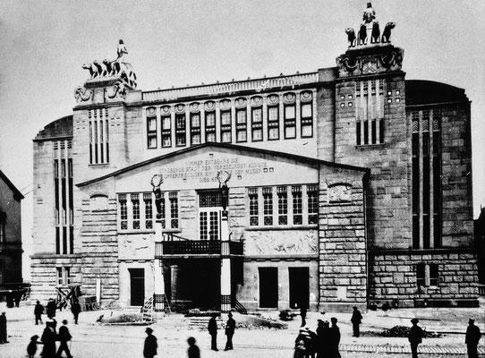 Das alte Theater am Hiltropwall