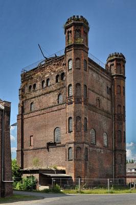 Hammerkopfturm der denkmalgeschützten ehem. Zeche Westhausen | Juni 2009