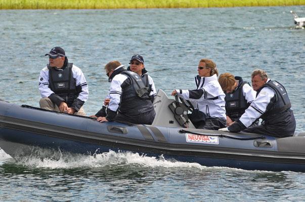 Phoenix - See, Dortmund - erste Regattaaktivitäten Juni 2012