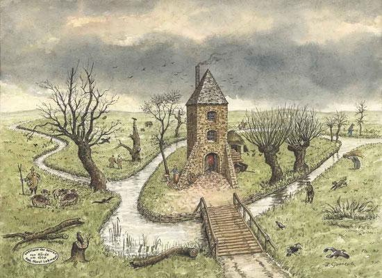 Hörder Burg, Dortmund - um 1200 Quelle: Denkmalbehörde