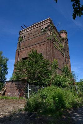 Hammerkopfturm der denkmalgeschützten ehem. Zeche Westhausen | Juni 2016