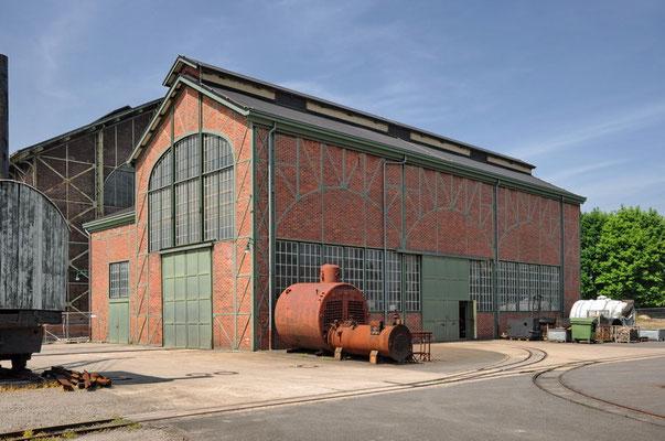 Zeche Zollern II/IV, Dortmund-Bövinghausen - Maschinenhalle