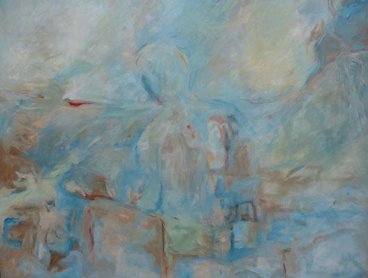"""80 x 100 Acryl auf Leinwand 2016 """"Stirb und Werde"""""""