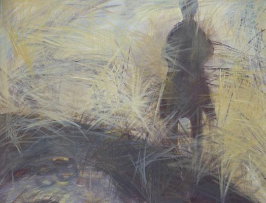 "80 x 100 Acryl auf Leinwand 2017 ""Serie Frau"""