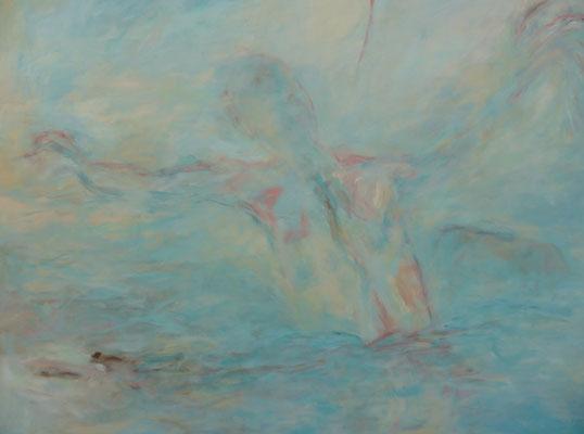 """80 x 100 Acryl auf Leinwand 2015 """"Stirb und Werde"""""""
