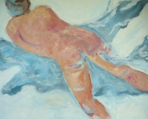 "80 x 100 Acryl auf Leinwand 2018 ""Serie Frau"""