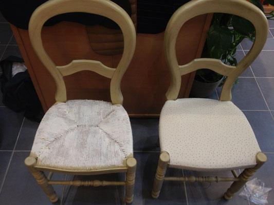 garnissage de chaises