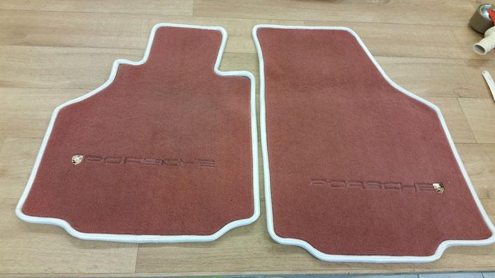 bordure pour tapis de sol