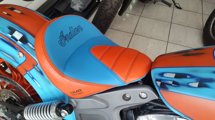 selle confort sur mesures indian scout