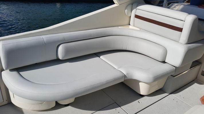banquette bateau
