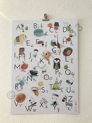 "Poster ABC, carta liscia 300 g/m2, dim A4 8.- chf / A3 12.- chf • stampa ""Tipografia Grafica Bellinzona"", a Claro"