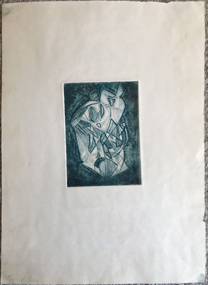 """""""Composition"""" . Paule Danjou . 1975"""