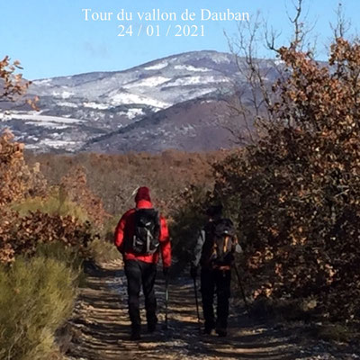 Tour du vallon de Dauban