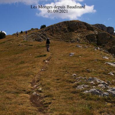 les Monges depuis Baudinard