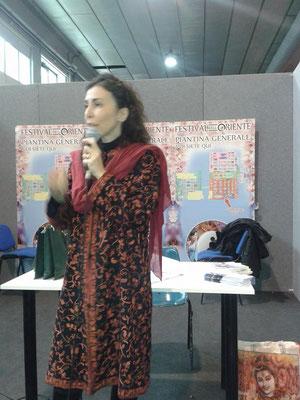 Conferenza Sonia Versace