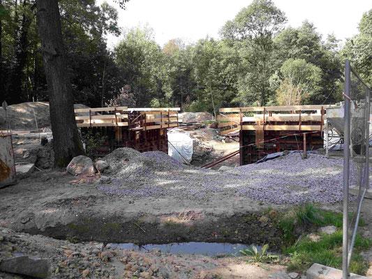 Hüttermühle Brückenbau 10
