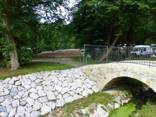 Hüttermühle Brückenbau 15