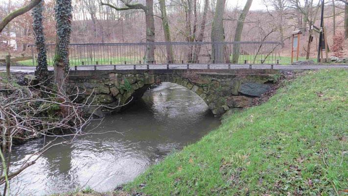 Hüttermühle, Alte Brücke von 1762, Original