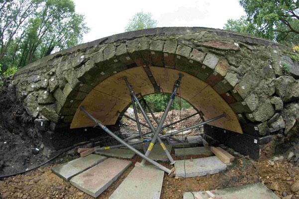 Hüttermühle Brückenbau 5
