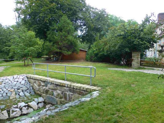 Hüttermühle Brückenbau 16