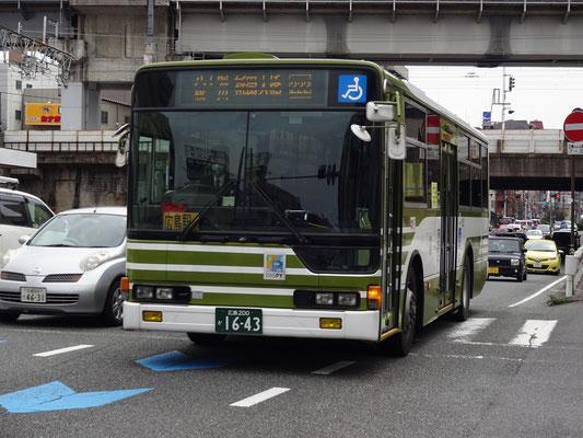 横川駅前~三篠町一丁目間