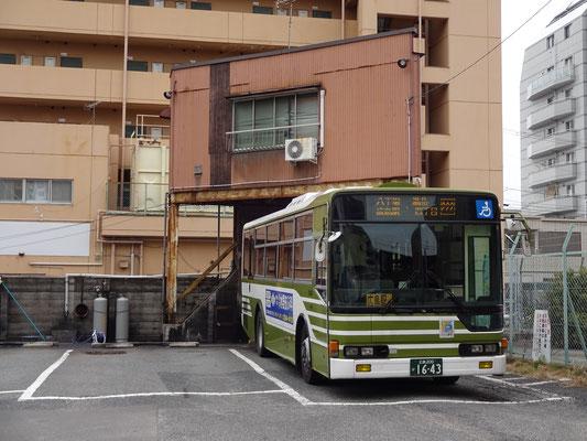 広島バス祇園大橋転回場(敷地外から撮影)