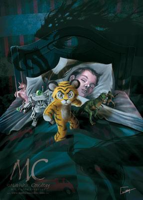 Tiny - illustration de couverture jeu de rôle pour JDR Editions - Mathieu Coudray