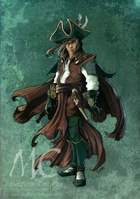 Pirate - Mathieu Coudray
