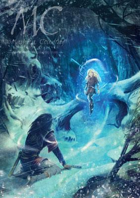 La Somme des Rêves - illustration de couverture - Editions Asgard - Mathieu Coudray