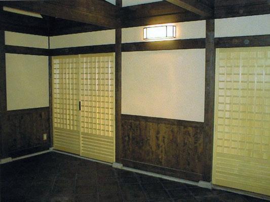平野郷 全興寺様の建具