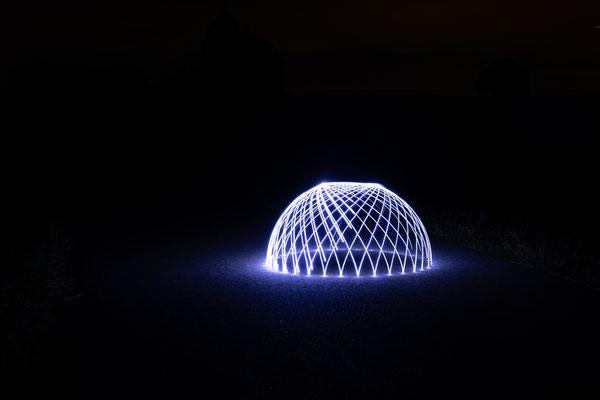 Inge Straub: Dome Lightpainting