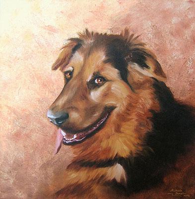 """Hunde-Portrait """"Erinnerung"""""""