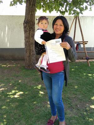 Zertifikate sind für Peruaner sehr wichtig.