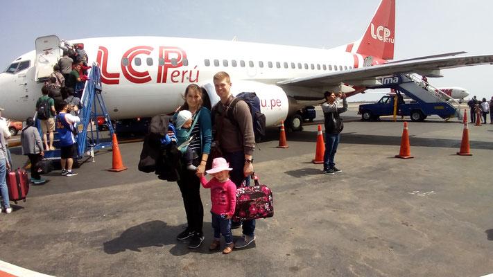 Weiterflug nach Cusco (ein paar Tage später)