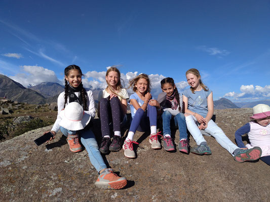 Unter den Missionarskindern gibt es sehr enge Freundschaften.