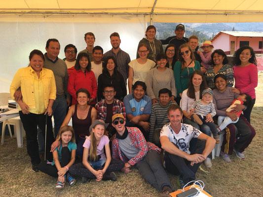 Schönes Gruppenfoto. Leider waren nicht (mehr) alle da.