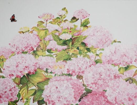 2015 Four elements  Acrylic-paint on linen 60 x 80 cm.