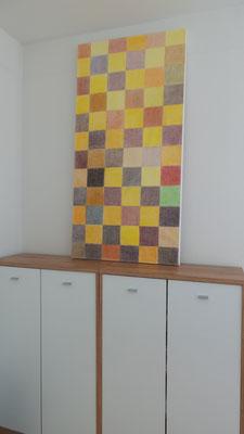 Atelier Henrietta - Augenreise in Braun Gelb Gold Orange