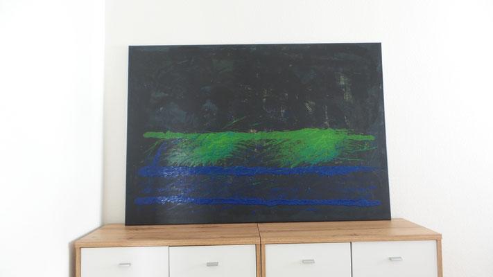 Atelier Henrietta - Back to Black 130x90 cm
