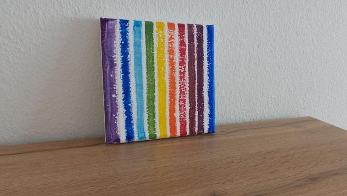 Atelier Henrietta Symboli der Regenbogenfarben