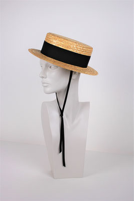 STRAW BOATER HAT - €167 -