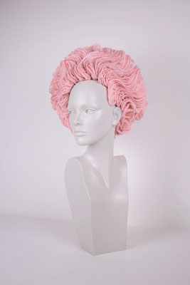 PINK BERET (UNIQUE PIECE) - €410 -